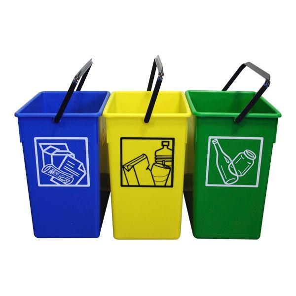 Mejores 7 im genes de reciclaje contenedores en pinterest contenedores de reciclaje ideas - Contenedores de basura para reciclaje ...
