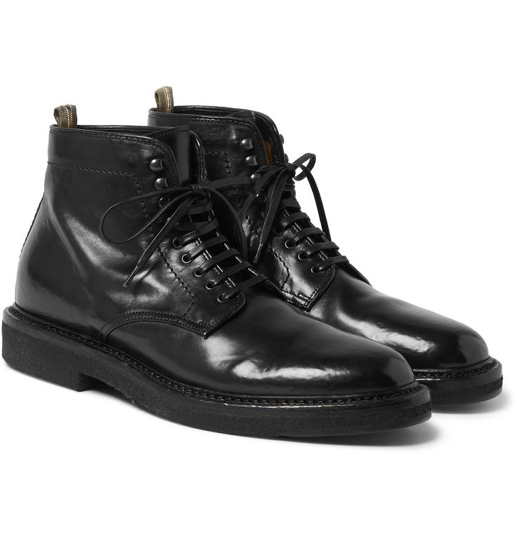 <a href='http://www.mrporter.com/mens/Designers/Officine_Creative'>Officine Creative</a>'s leather 'Stanford' boots have been crafted in Italy using authentic artisanal techniques - the lightly distressed surface gives them a rugged, well-worn appearance. They sit just above the ankle and are set on sturdy rubber-crepe soles that provide superb grip. Wear them with everything from jeans to tailored trousers.