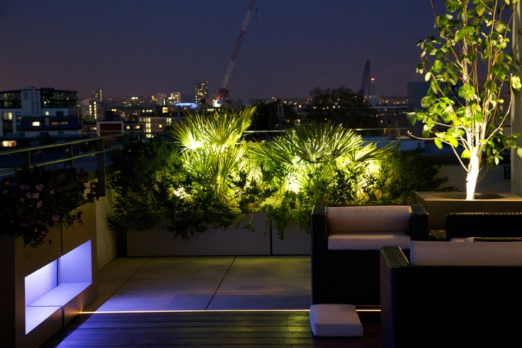 Landscape Lighting On Roof : Images about garden lighting on