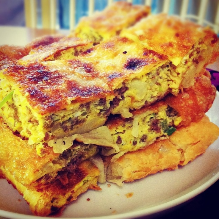 Curry Martabak ! Missed you Indonesia ...