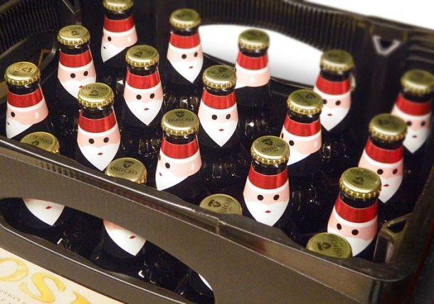 #Holiday beer #packaging