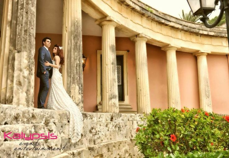 Wedding in Greece , Corfu old town , Kalypsis events entertainment