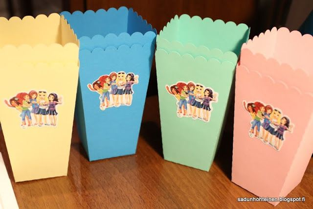 Lego friends -popcorn kippo