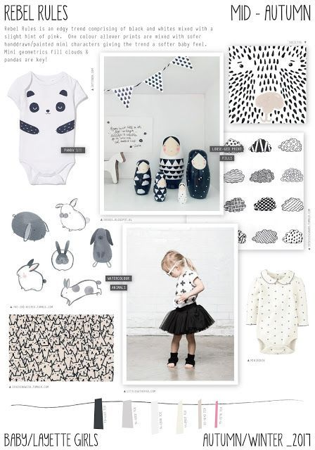 Emily Kiddy: Rebel Rules - Autumn/Winter 2016/17 - Baby/Layette...