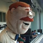 Henry Schulman's Photo: Get this bleeping loser out of the press box.   Lockerz