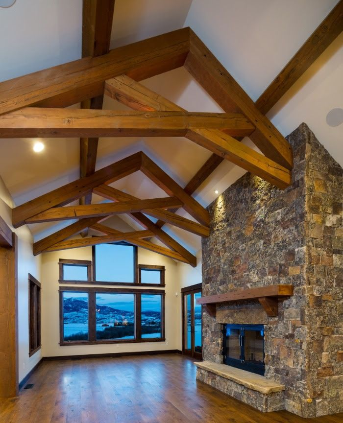 Timbers Posts And Beams Beams Timber House Design