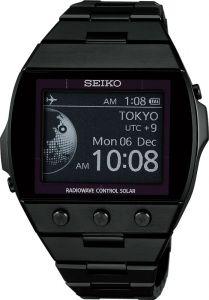SEIKO EPD Funk-Solar Herren Uhr S770 SDGA003