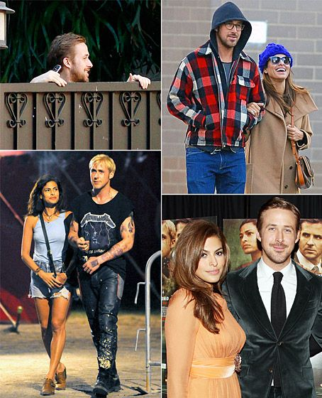 From costars to lovers! See how Ryan Gosling and Eva Mendes' romance has evolved from their first Disney trip, to their first red carpet together, and more!