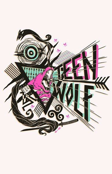 Cool Teen Wolf drawing from Tumblr:)