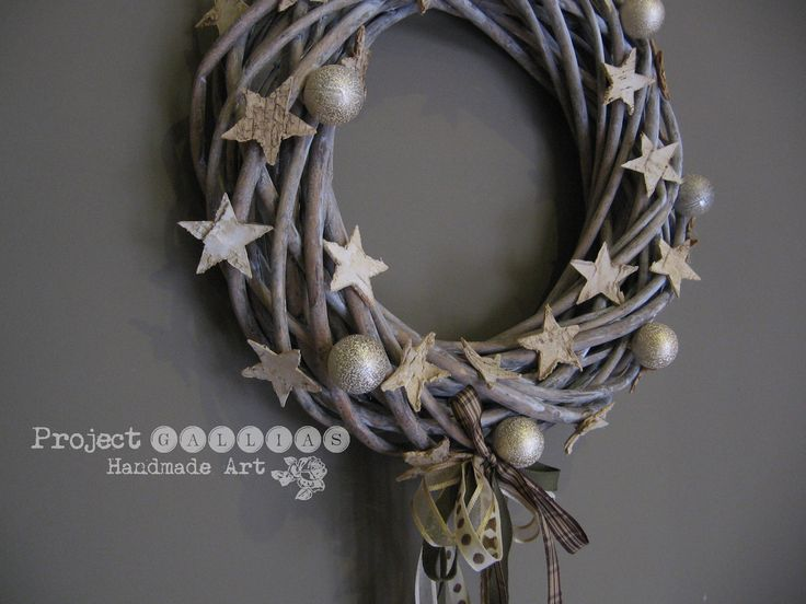 Project Gallias: Christmas wreath  #projectgallias