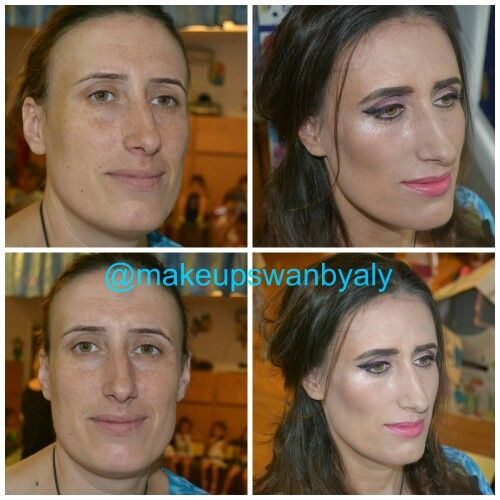 Machiaj pentru Eleny before and after