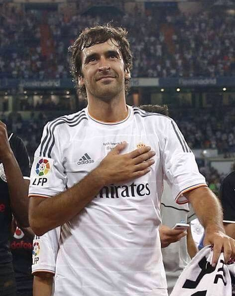 Raul Real Madrid Mi capitán