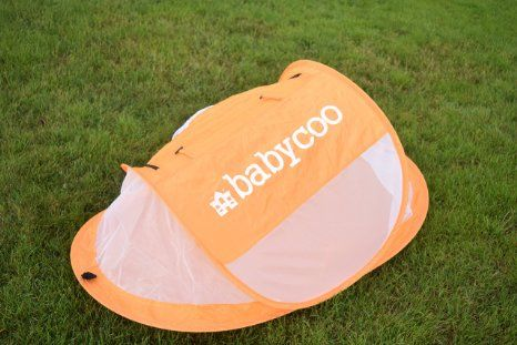 Baby tent, Pop-Up beach tent, Instant travel tent for baby, Protect from sun & bugs (Orange), 2016 Amazon Hot New Releases Gear  #Baby