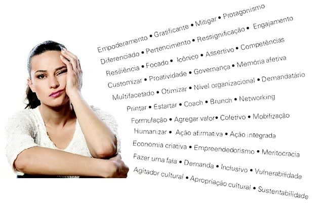 Alguns verbetes ou expressões, como empoderamento, coletivo, economia criativa, são repetidos à exaustão dentro ou fora de contexto. Listamos os principais: