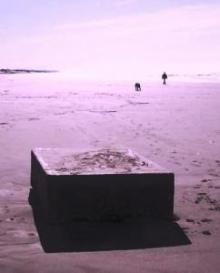 Mystery Boxes  BRAY'S POINT, Ore. – They can't be moved; even when yanked by a four-wheel drive truck pulling on heavy chains tied around these humming metal boxes that are still appearing as of Feb. 8 up and down West Coast beaches.