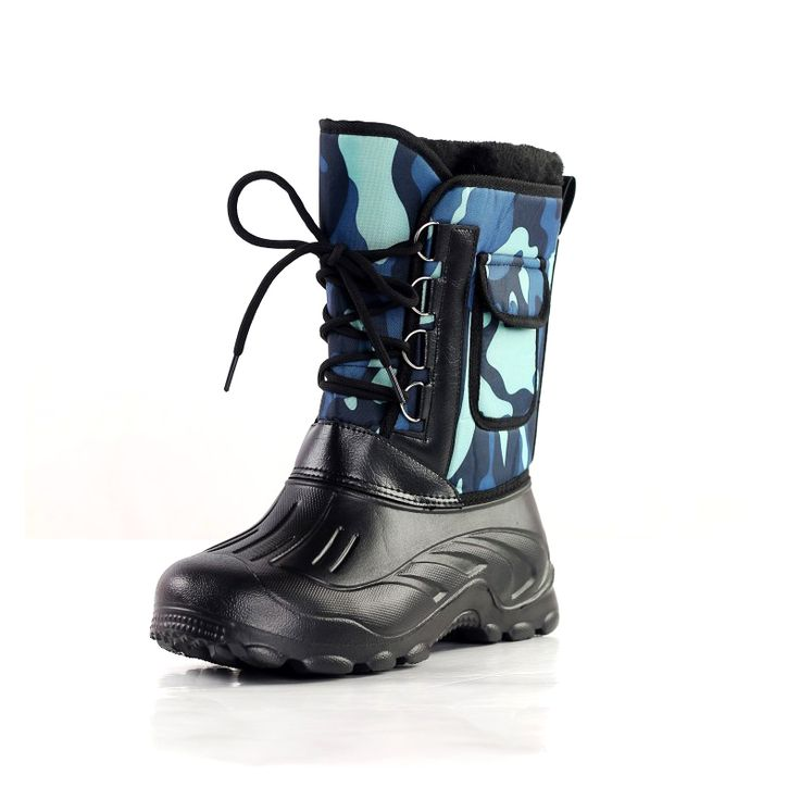 New Design Men Outdoor Boots Waterproof Anti-skid Warm Winter Shoes Mountain Climing Fishing Ski Boots