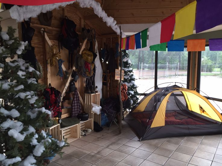 Everest VBS entrance - Base Camp