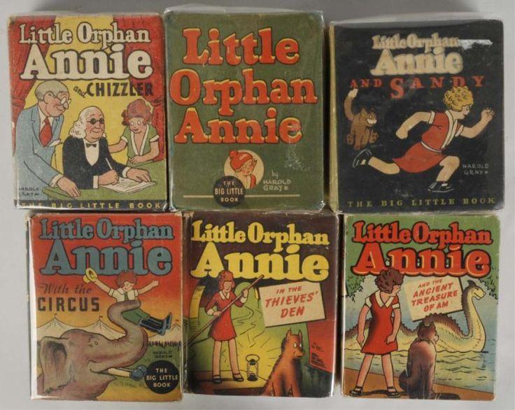 Little Orphan Annie Best Lines: 36 Best Images About Big Little Books On Pinterest