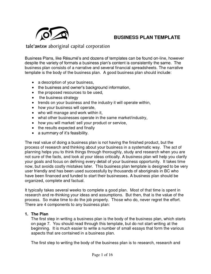 The 25+ best Business plan sample pdf ideas on Pinterest Sample - company proposal format