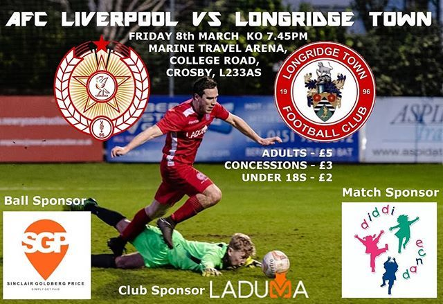 Tomorrow Friday Night Football Returns As We Welcome The League Leaders To The Mta Match Sponsor Diddi Dance Wirral Friday Night Football League Liverpool