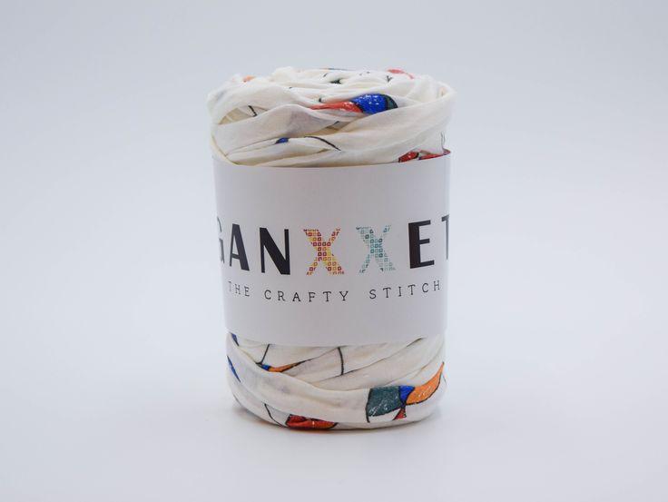 GANXXET Fabric Yarn - Badalona ( ecru with Miró style print )