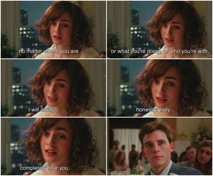 Love, Rosie.  Lily Collins, Sam Claflin