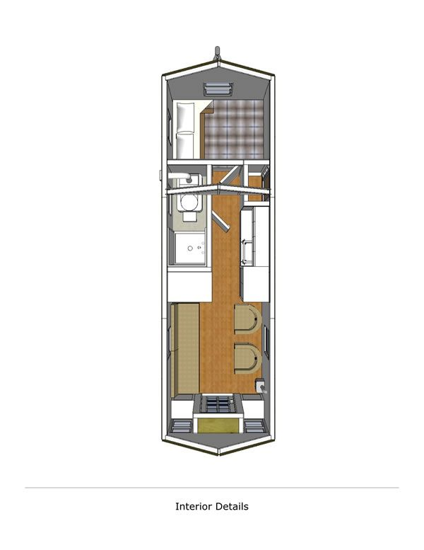 Little river lodge 8x24 v1 interior for the home for 24 ft tiny house