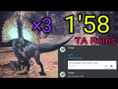 MHW A Flash in the Pan (1'58) TA Rules - Lance - YouTube | Monster
