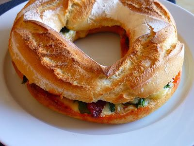 La Chef A: Rosca de Cheddar, sobrasada y espinacas