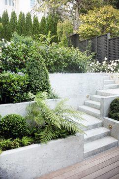 Coxhead House Garden - San Francisco - Jennifer Weiss Architecture