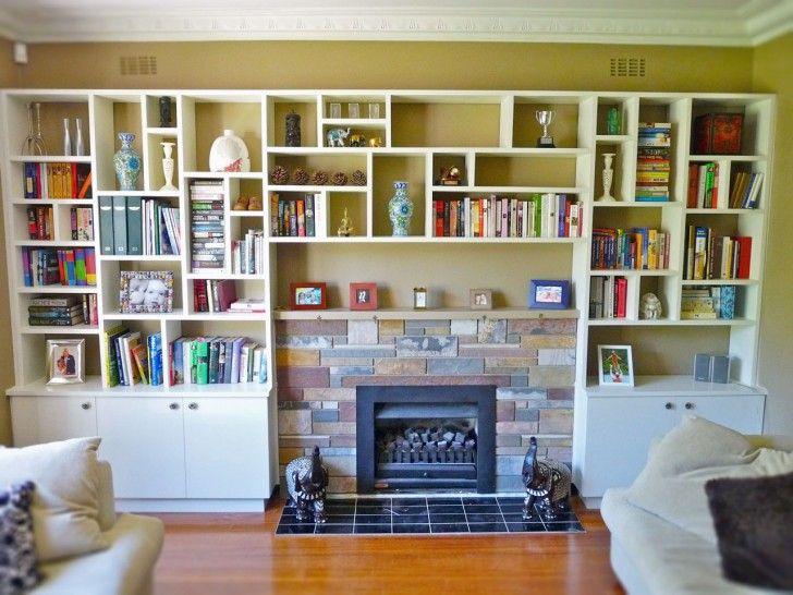 Best 25 custom bookshelves ideas on pinterest built in for Custom bookcase plans