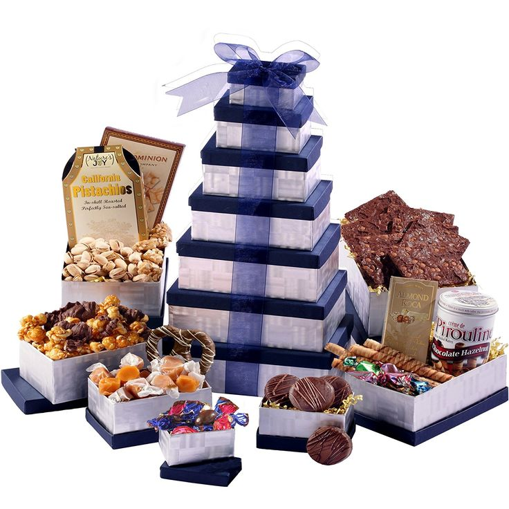 Happy Birthday Gift Tower By Gourmetgiftbaskets Com: 10 Best Ideas About Chocolate Gift Baskets On Pinterest