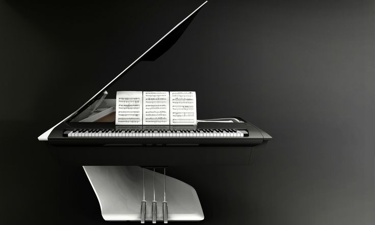 Piano Pleyel demi-queue design by Peugeot Design Lab - 165 000 €