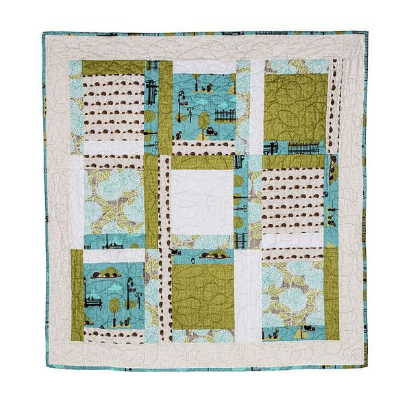 A Walk in the Park - Baby Quilt 38x38 $200