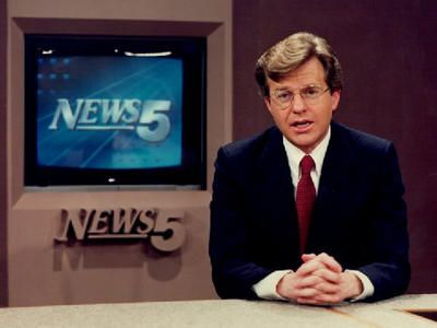 Back in the Day:  Jerry Springer, Cincinnati news anchor and former mayor.