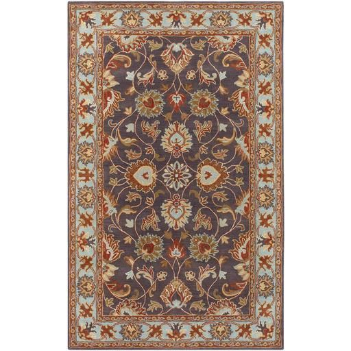 Caesar CAE-1001 Gray Damask Rug  #decor #rugs #myhomeisbetterthanyours #fab #floorcoverings #floordecor #arearugs #myhome #interiorstyling #homeaccents