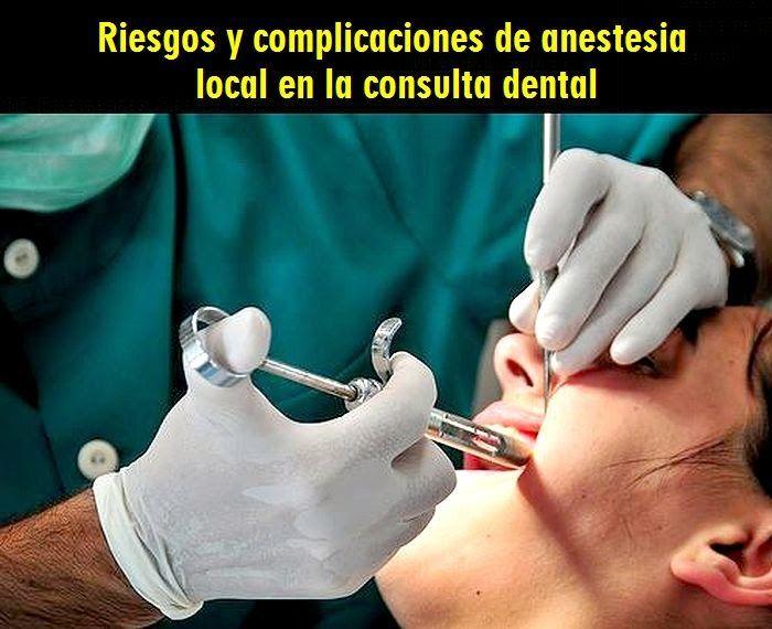 Riesgos y complicaciones de anestesia local en la consulta dental | OVI Dental