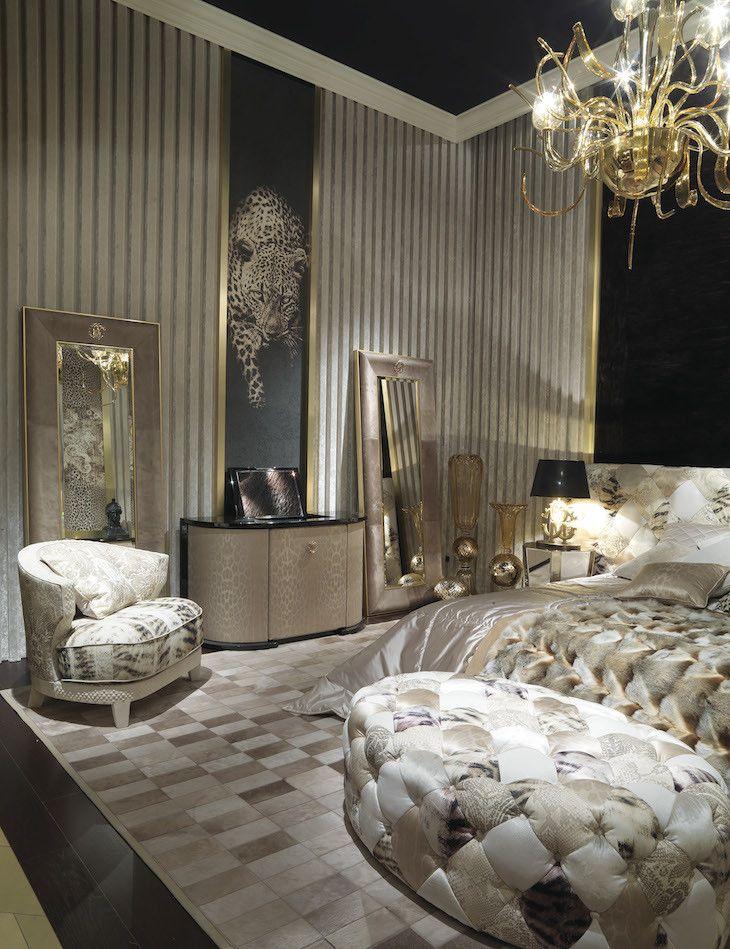 roberto cavalli home luxury bedroom master luxurious on home interior design bedroom id=61069