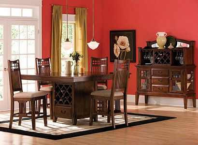 This Is My Dining Room Set But I Have The Bigger Table And 8 Chairs Counter Height