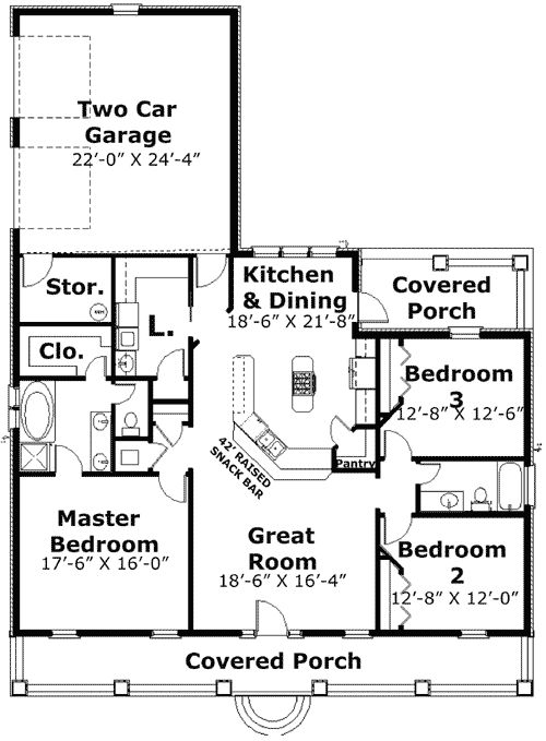 Plan 2573DH: Timeless Character And Style