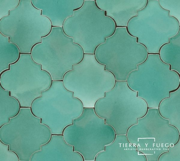 turqoise bathroom tile - also have in emerald green :)