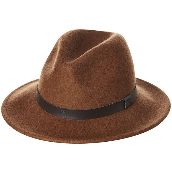 Mens Rhythm Everyday Hat Brown Cotton ($37) ❤ liked on Polyvore featuring men's fashion, men's accessories, men's hats, men, accessories, brown, mens hats, wide brimmed hats and mens wide brim hats