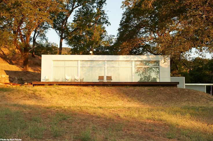 Rocio Romero LV Prefab in Pope Valley, Napa County, CA