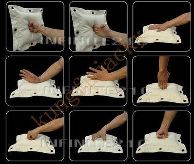 Wing Chun kung fu wall bag kick boxing Striking Punch bag/Sand bag