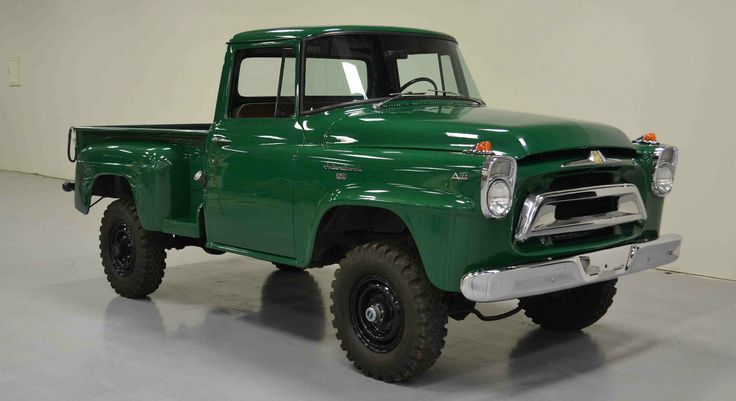 1958 International A120 4X4 Pickup