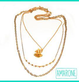 Si optas por un look fresco y sencillo, este es el #collar perfecto para ti.