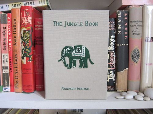 olympialetan:    The Jungle Book book-clutch by Olympia Le-Tan (special order).