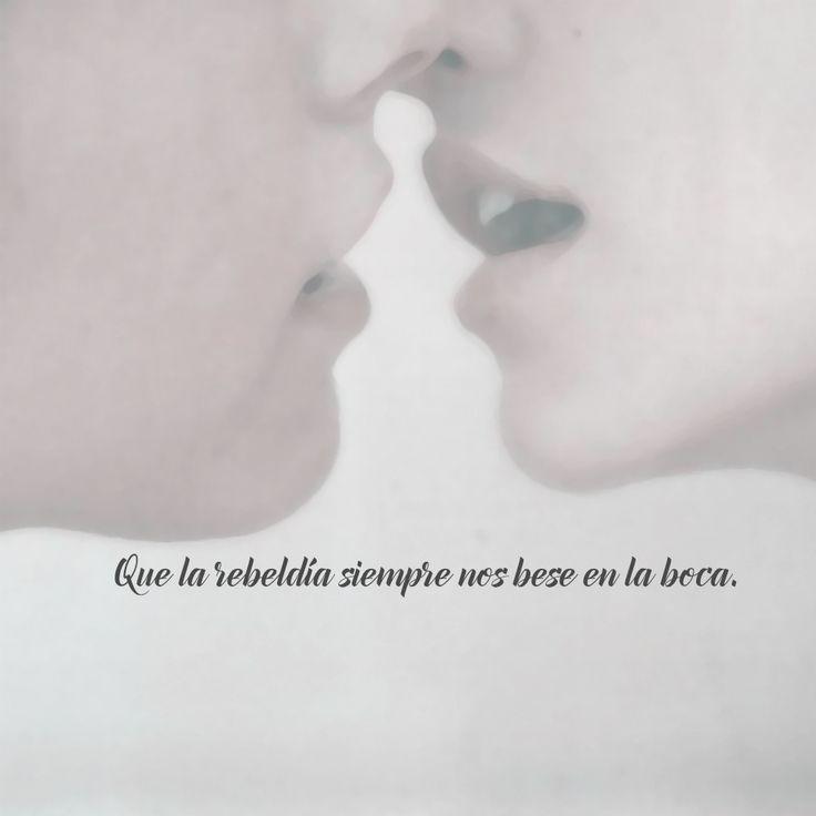 10 Imágenes de besos con frases bonitas llenas de pasión