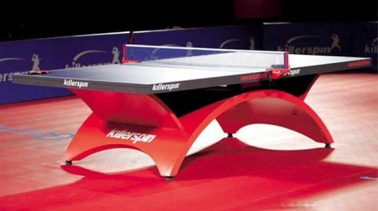 Tournament Grade Table Tennis Ping Pong Table Includes Net and Post System #Killerspin
