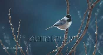 Whisper in the Willows - Chickadee  www.levitskyart.com